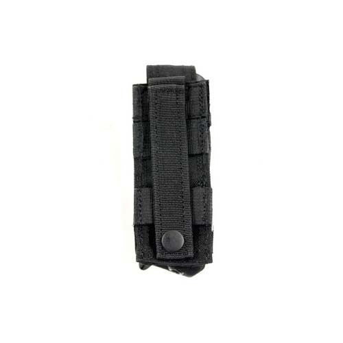 BLACK Single Advanced Sidearm Magazine Pouch - Punishers Paintball