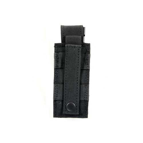 BLACK Single Sidearm Magazine Pouch - Punishers Paintball