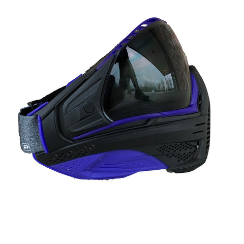 Push Unite Paintball Goggle - Purple Out w/ Purple Camo Strap