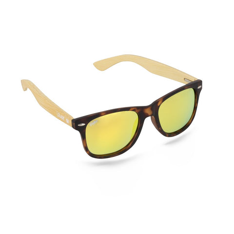Virtue V.Blade Sunglasses - Bamboo Gold Tortoise
