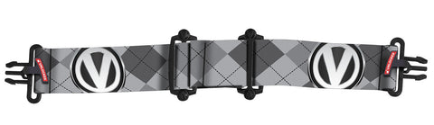 Virtue Vio Goggle Strap - Argyle Gray