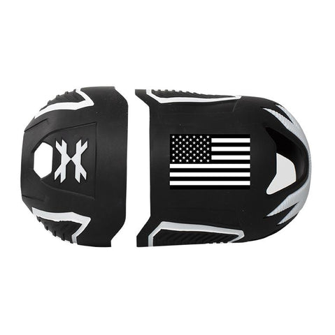 HK Army Vice FC Tank Cover  - USA Black/White
