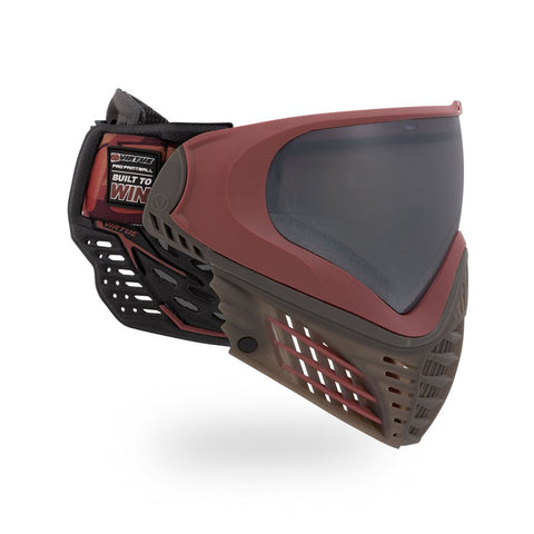 Virtue VIO Contour 2 Paintball Mask - Dark Slate Red
