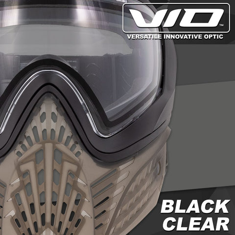 Virtue Vio Extend 2 Paintball Mask - Black