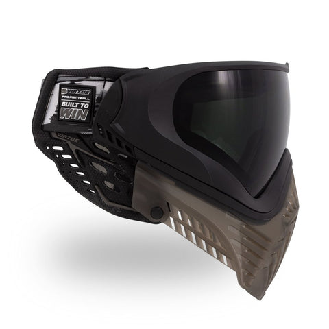 Virtue Vio Extend XS 2 Paintball Mask - Black Smoke