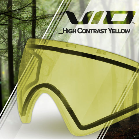 Virtue VIO Paintball Lens - Hi Contrast Yellow