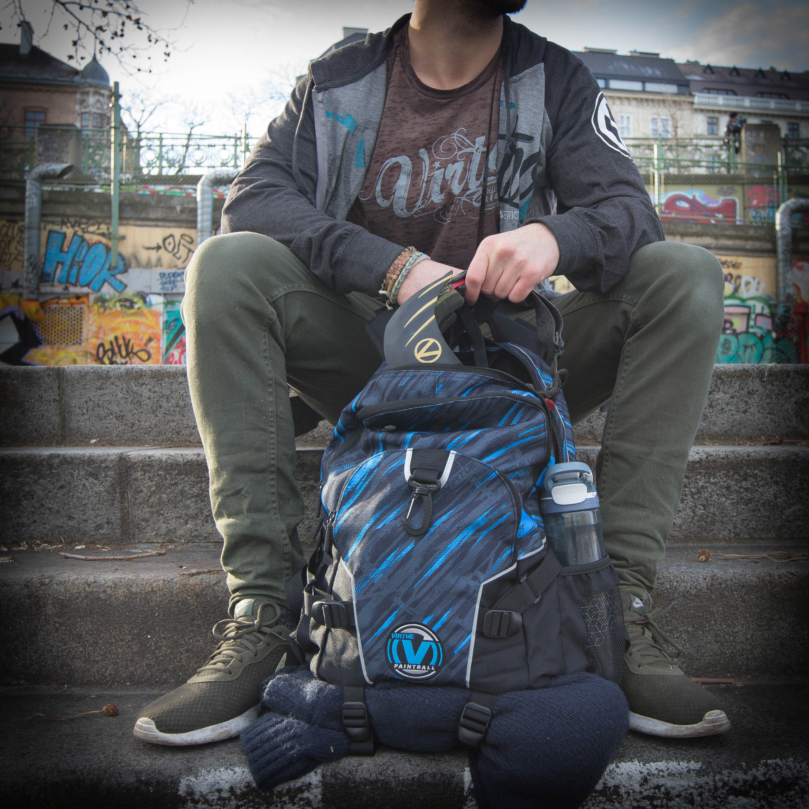 Virtue Paintball Wildcard Backpack - Red