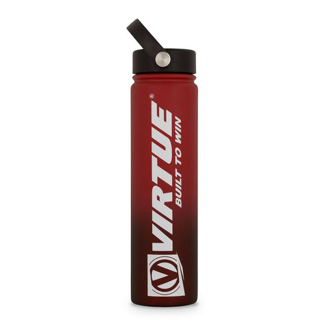 Virtue Stainless Steel 24 Hour Cool Water Bottle - Red
