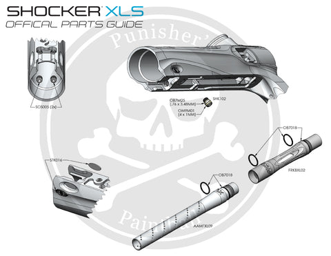 SP Shocker XLS Body Parts List - Pick the Part You Need!