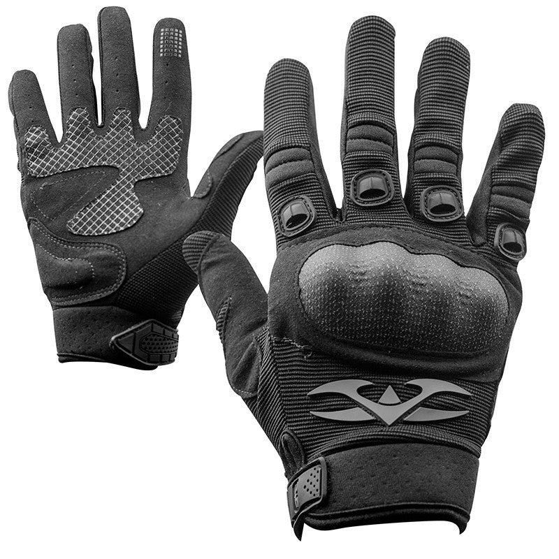 Gloves - Valken Zulu Tactical - Black - Punishers Paintball