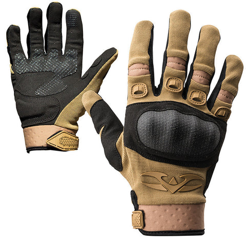 Gloves - Valken Zulu Tactical - Tan - Punishers Paintball