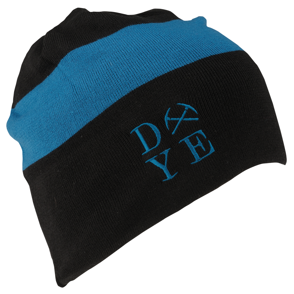 Dye Beanie   3AM Black Blue
