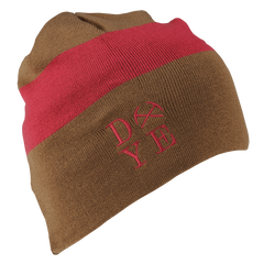 Dye Beanie   3AM Earth Maroon