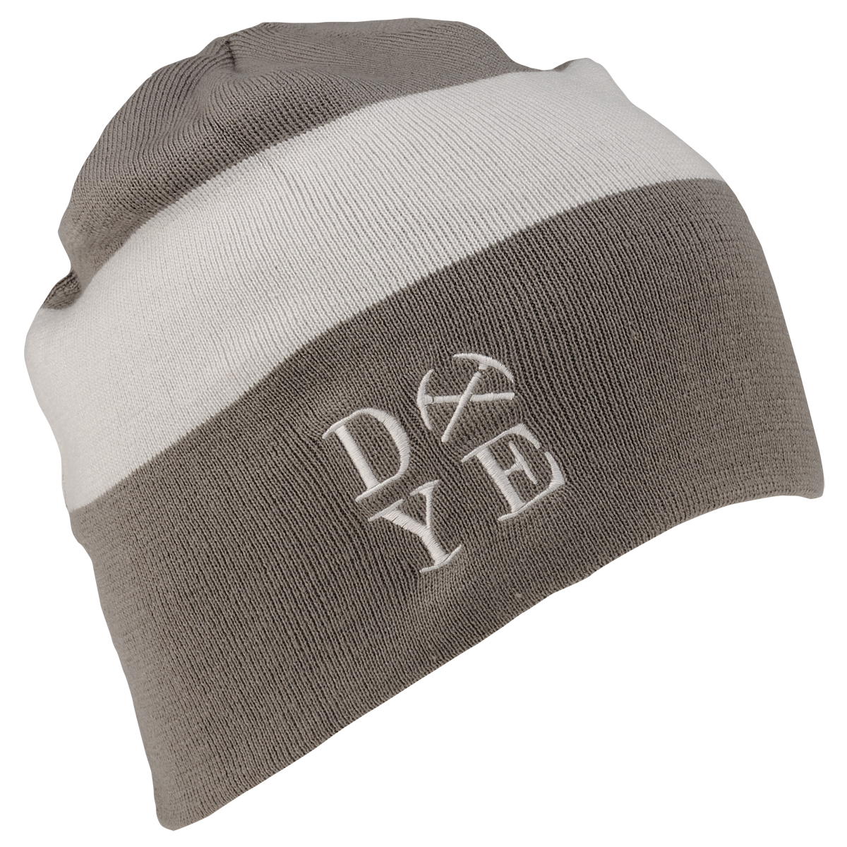 Dye Beanie   3AM Rust White