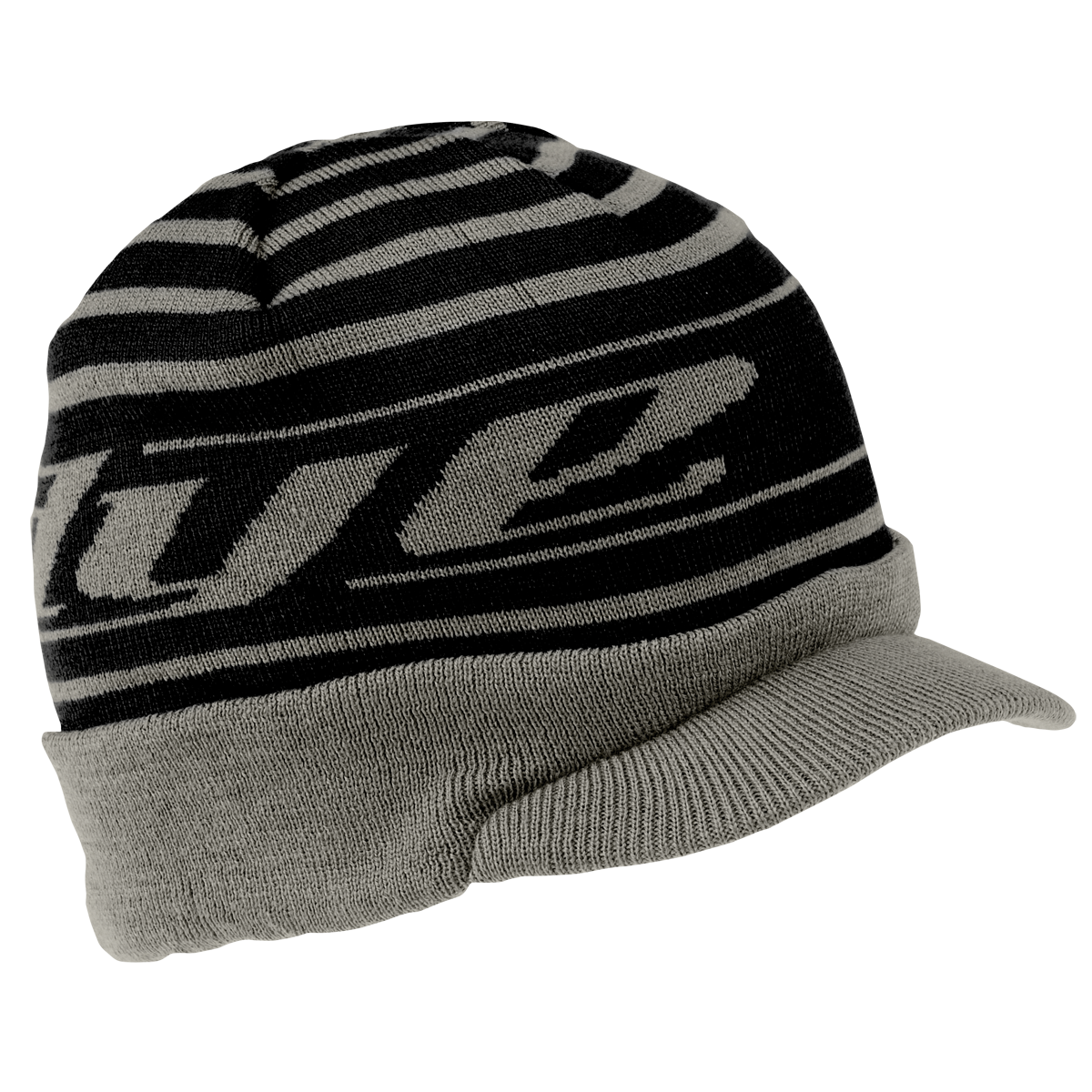 Dye Beanie   Player Black Gray