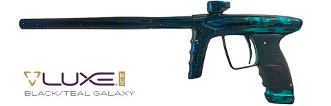 DLX Luxe Ice - Black / Teal Galaxy