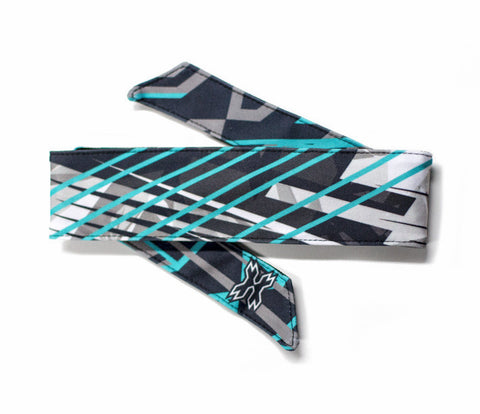 Chaos Teal Headband - Punishers Paintball