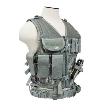 NCStar Tactical Vest - Digital Camo