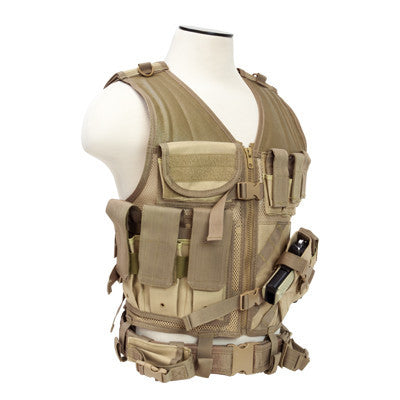 NCStar Tactical Vest - Tan