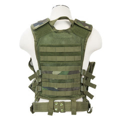 NCStar Tactical Vest - Woodland Camo