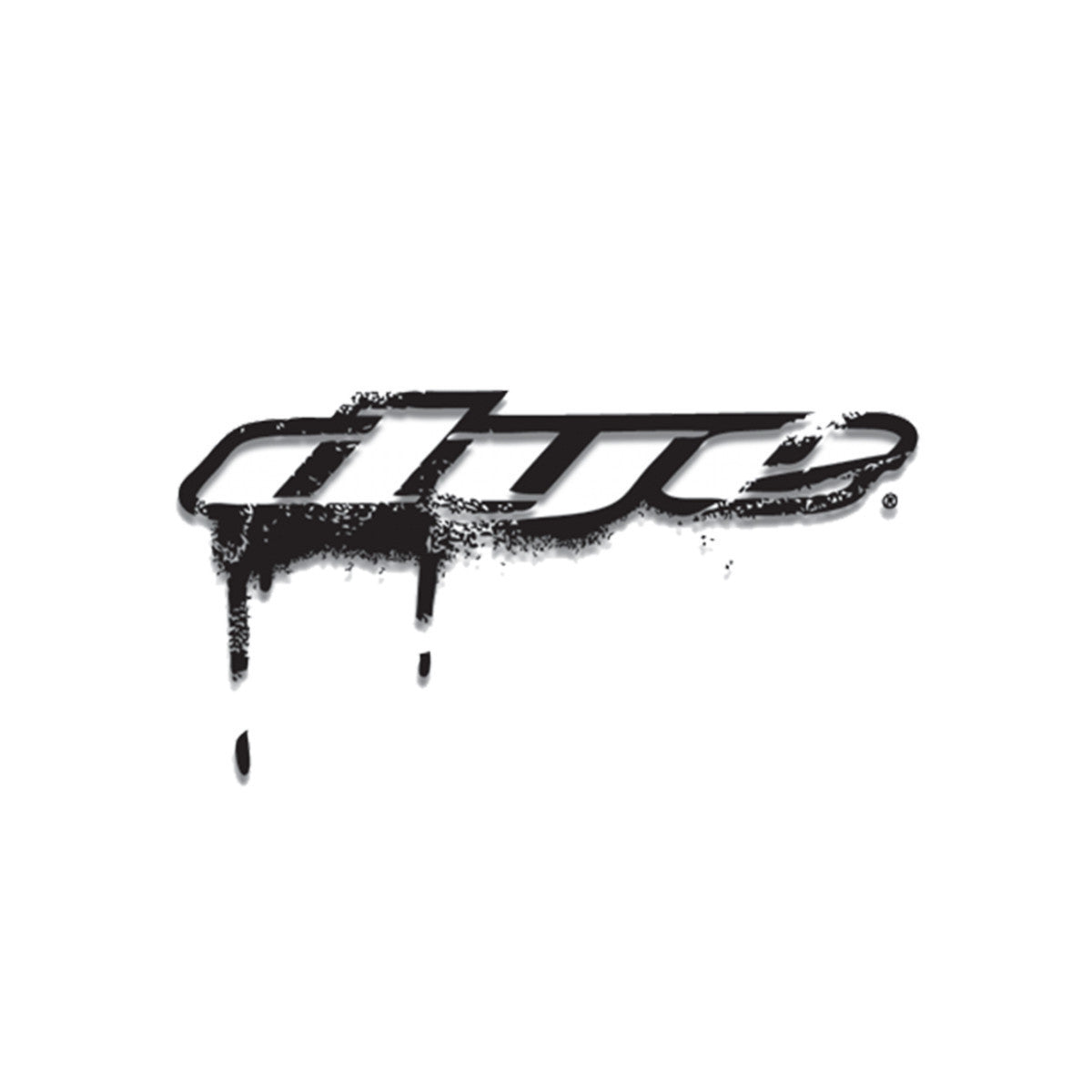 DYE Drip Sticker   8  (Black or White)