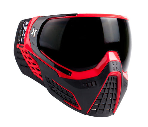 HK Army KLR Goggle - Fire (Red/Black)