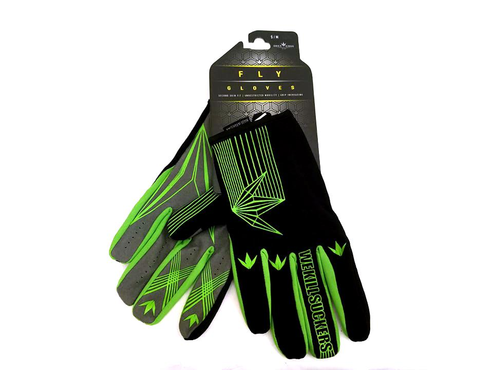 Fly Paintball Gloves - Lime