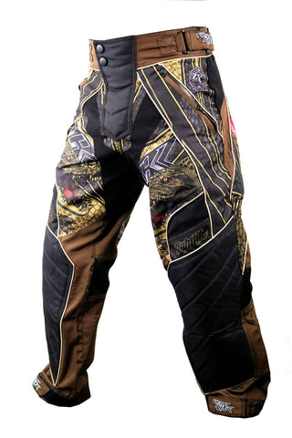 Contract Killer Gator Paintball Pants- Brown