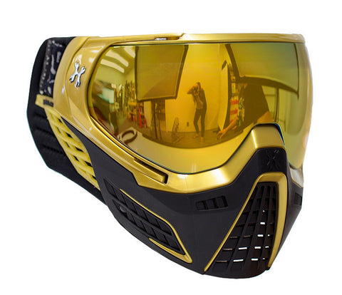 KLR Goggle Metallic Gold