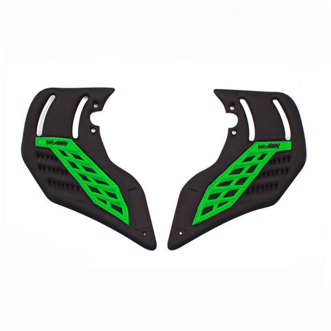 Foam Ear Neon Green - Punishers Paintball