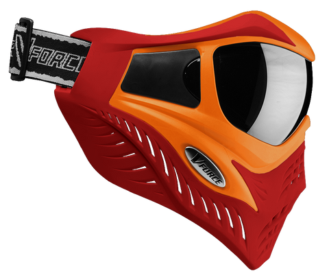 V Force Grill Orange Red