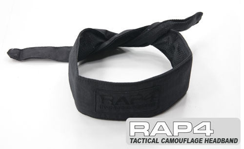 BLACK Tactical Headband - Punishers Paintball