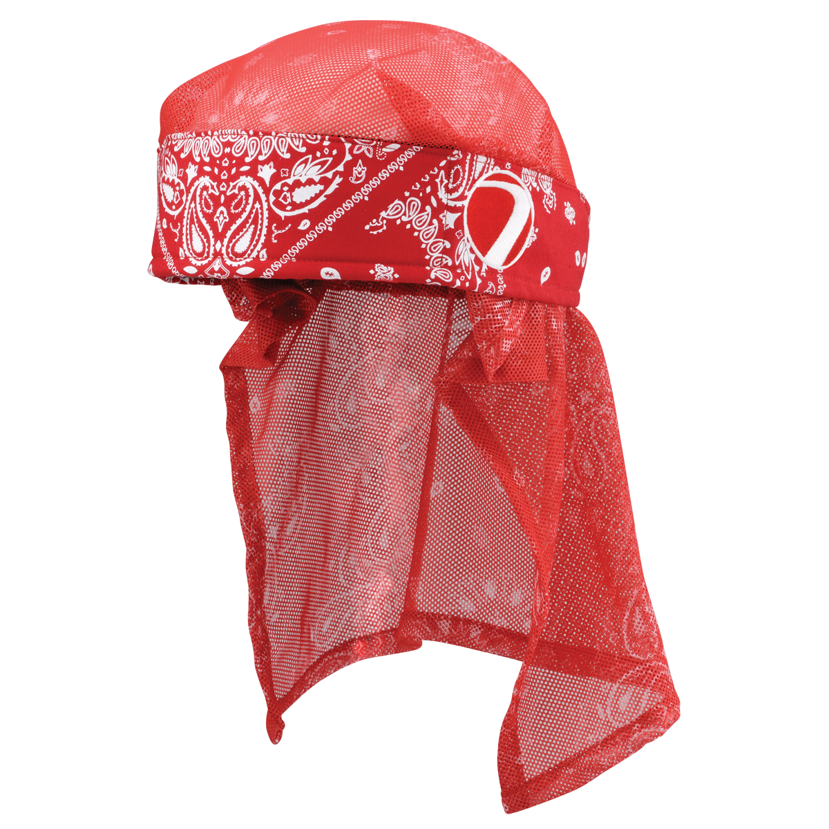 Dye Head Wrap - Bandana - Red