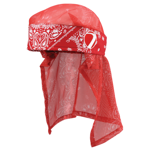Dye Head Wrap   Bandana   Red