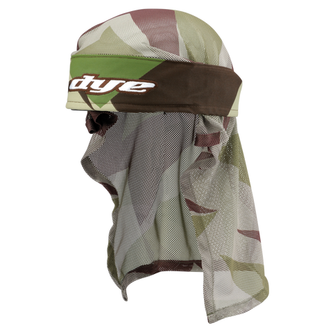 Dye Head Wrap   Barracks   Olive