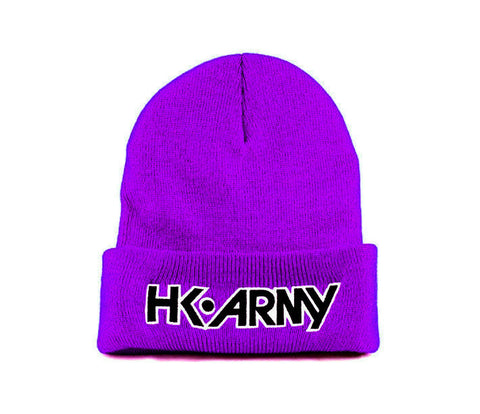 HK Army Beanie - Purple - Punishers Paintball