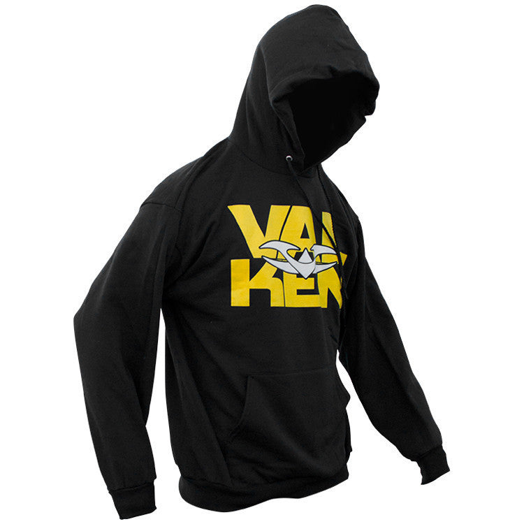 Hoody - Valken Insert Pullover - Black - Punishers Paintball