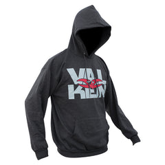 Hoody - Valken Insert Pullover - Charcoal Heather - Punishers Paintball