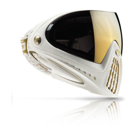 DYE i4 Goggle   White   Gold Special Edition