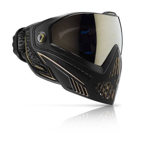 DYE i5 Paintball Goggle   Onyx Gold