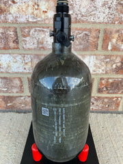 Used First Strike 68/4500 Paintball Air Tank- Carbon Fiber