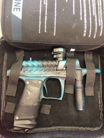 Used Bob Long g6r Ripper Paintball Gun - Teal/Black