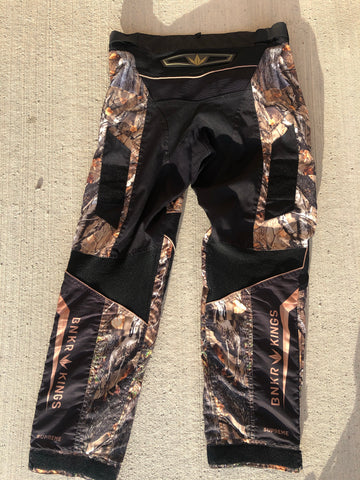 Used Bunker Kings Supreme Paintball Pants - Sherwood Camo - Size XL