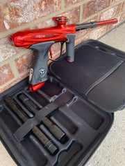 Used Dye M2 MOSAir Paintball Marker- Red Rum