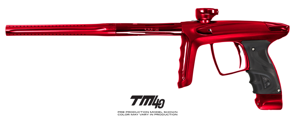 DLX Luxe TM40 Paintball Gun - Dust Red/Polished Red (Pre-Order)