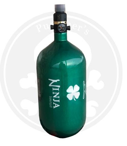 Ninja SL2 77/4500 Paintball Tank - St. Patty's Day Lucky Irish Green LE