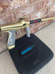 Used Shocker RSX Paintball Marker- Dusk Gold