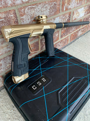 Used Planet Eclipse CS2 Paintball Marker- Dust Gold
