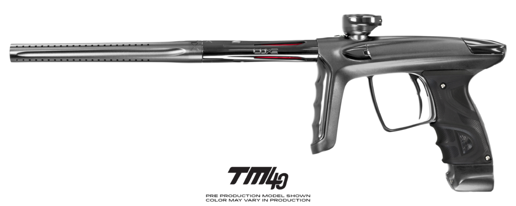 DLX Luxe TM40 Paintball Gun - Dust Pewter/Polished Pewter (Pre-Order)