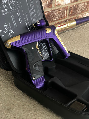 Used HK Army Luxe X Paintball Gun - Purple/Gold